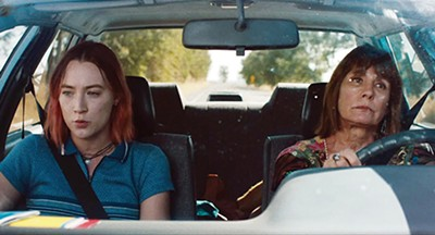 Saoirse Ronan (left) and Laurie Metcalf star in Greta Gerwig's Lady Bird.
