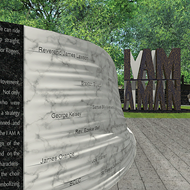 Ground Breaks on 'I Am A Man' Plaza Near Clayborn Temple