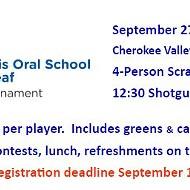 MOSD 9th Annual Golf Tournament
