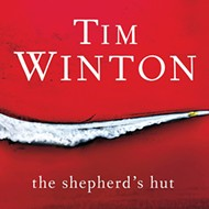 Tim Winton's <i>The Shepherd's Hut</i>.