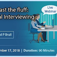 Getting Past the Fluff: Behavioral Interviewing