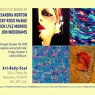 Opening reception and artists talk for Sandra Horton, Becky Ross McRae, Frederick Lyle Morris, and Jon Woodhams