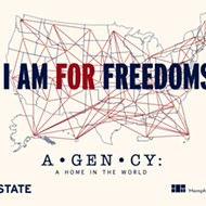 """For Freedoms Exhibition: A•GEN•CY: A Home in the World"""