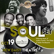 SugaShack presents The Soul Set: Tribute to Aretha Franklin, Teddy Pendergrass & The Ojays