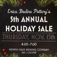 Erica Bodine Pottery's 5th Annual Holiday Sale