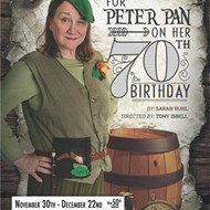 "Never Land: ""For Peter Pan on Her 70th Birthday"" Opens at POTS"
