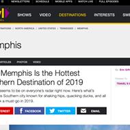 Travel Channel Dubs Memphis 'Hottest Southern Destination of 2019'