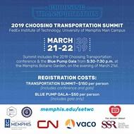 2019 Choosing Transportation Summit and Blue Pump Gala