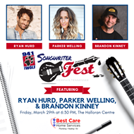 94.1 The Wolf Songwriter Fest