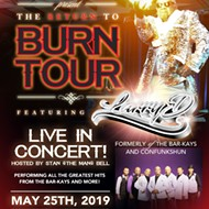 Return to Burn Tour with Larry Dodson and ConFunkShun