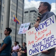 Pro-Choice Advocates Rally to 'Stop the Ban'
