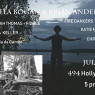 Artist's Reception for Brain Anderson and Pamela Bogan