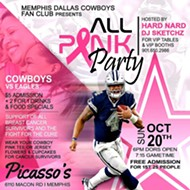 Cowboys All Pink Party! Memphis Edition!