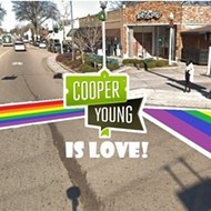 Rainbow Crosswalk Comes to Cooper-Young Saturday