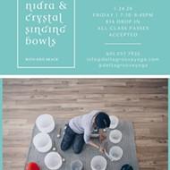 Yoga Nidra and Crystal Singing Bowls with Kris Brack