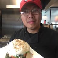 Best Bets: Sushi Jimmi's Sushi Burger at Saltwater Crab