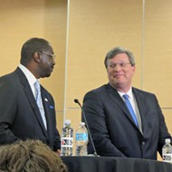 Mayoral Debate Gets Personal, On and Off Camera