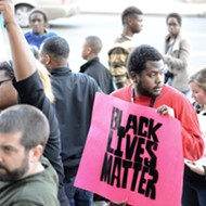 Scenes from the Darrius Stewart Rally