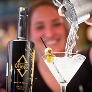 Artist Vodka for the creative types; Buster's expands.