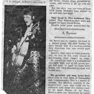 "When ""Whole Oats"" Opened for Bowie in Memphis"