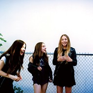 Haim live at Minglewood Hall Tuesday