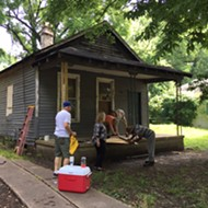 "Memphis Heritage Stabilizes Aretha Franklin Home in ""Guerilla Preservation"" Action"