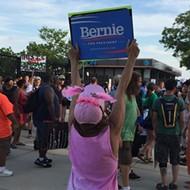 Bernie vs. Protesters