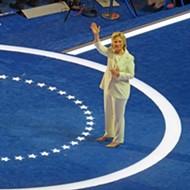 Hillary Mans Up