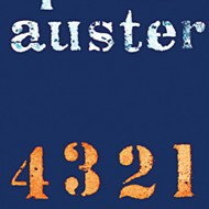 On Paul Auster's latest and bookstores.
