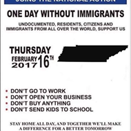 #adaywithoutimmigrants in Memphis; Not Quantifiable, But Noticeable