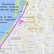 Riverside Drive To See Closures for Memphis in May, Riverplay