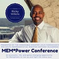 "Ricky Wilkins, battling cancer, to Head  ""Mem-Power Conference"""