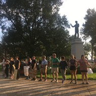 Group Rallies for Confederate Statues Removal, Prepares List of Demands for City