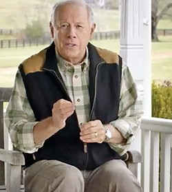 Bredesen in his campaign-announcement video - JB