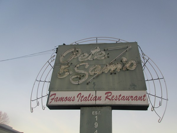 Pete and Sam's is closed after a fire around midnight Dec. 12. - MICHAEL DONAHUE