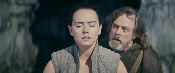 Daisy Ridley and Mark Hamill