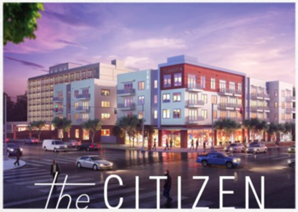 The Citizen is slated to open at Union and McLean in 2019. - BELZ HRP PARTNERS