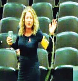 Forrest fan Jenna Bernstein taking her leave - JACKSON BAKER