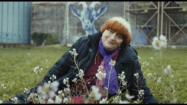 Director Agnés Varda in Faces Places