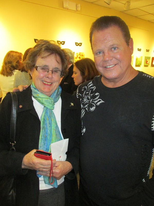 Agnes Stark and Jerry Lawler at  Incognito! - MICHAEL DONAHUE