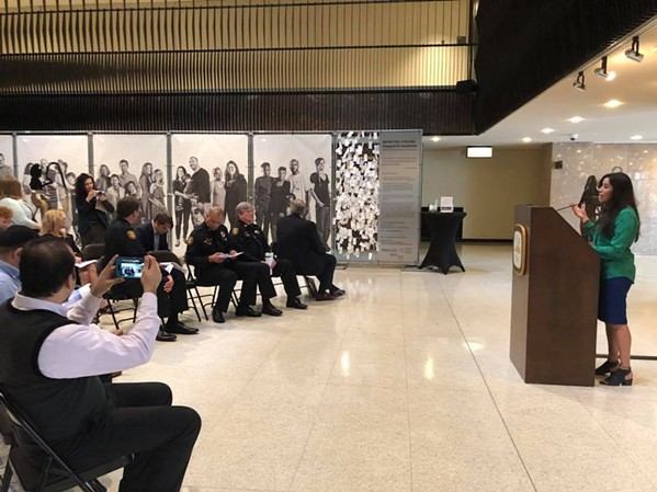 The findings of the report were announced at a reception for an art installation at City Hall honoring diversity. - FACEBOOK- LATINO MEMPHIS