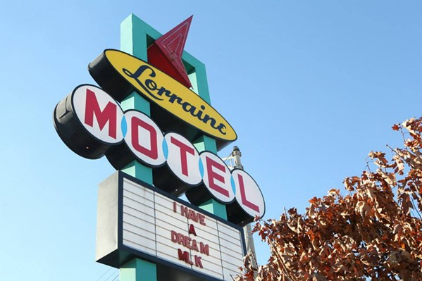 The Lorraine Motel is among the three sites in Memphis to be included on the U.S. Civil Rights Trail.