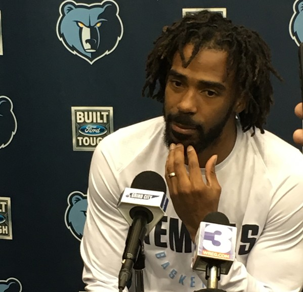 Mike Conley - SAMUEL X. CICCI