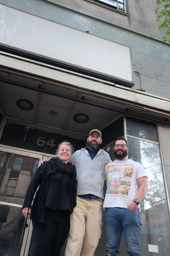 Amanda and David Krog and Gabe Velasquez are making things happen in downtown Memphis. - MICHAEL DONAHUE