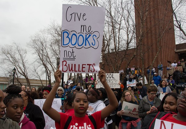 Memphis Students Protest Gun Violence With Walkout | Memphis Flyer