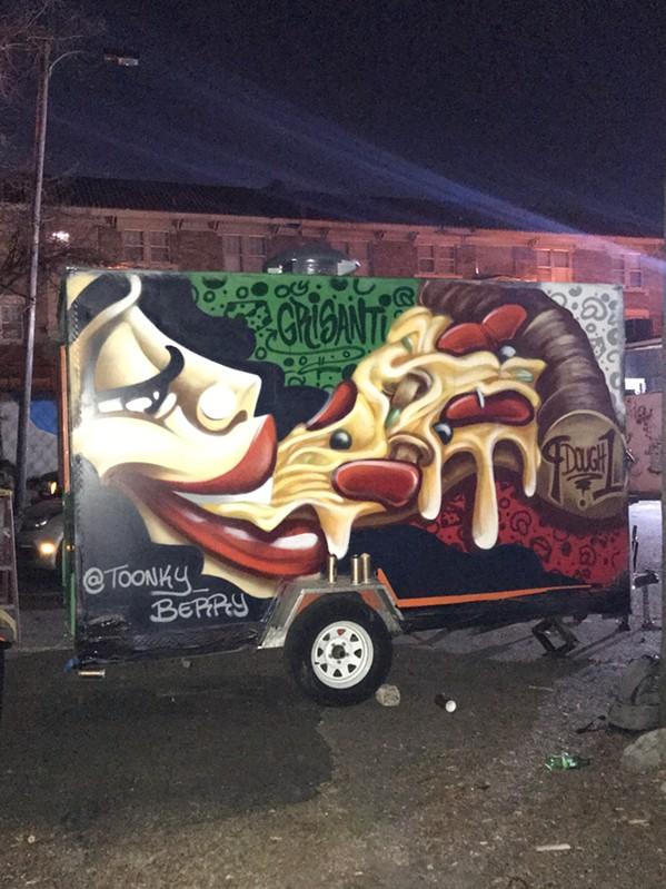 Grisanti's 9 Dough 1 food truck