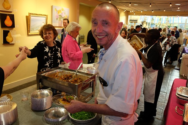 Erling Jensen was one of the participating chefs at Taste of Israel - MICHAEL DONAHUE
