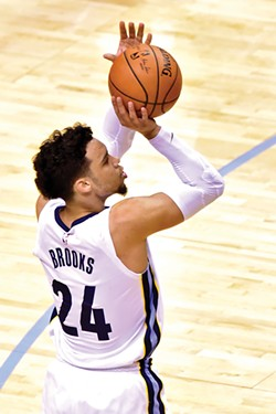Hey, the last guy the Grizzlies drafted (Dillon Brooks) was good! - LARRY KUZNIEWSKI