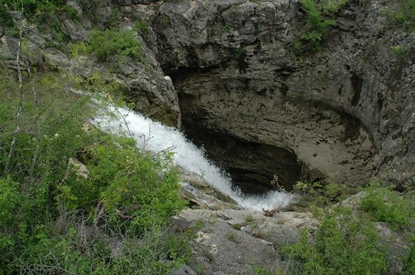 A massive sinkhole in the Edwards Aquifer. - EDWARDS AQUIFER AUTHORITY