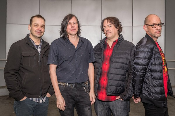 The Posies in 2018, not dressed for summer in Memphis